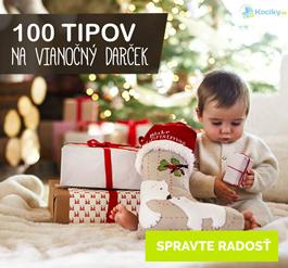 100 tipov na Vianočné darčeky