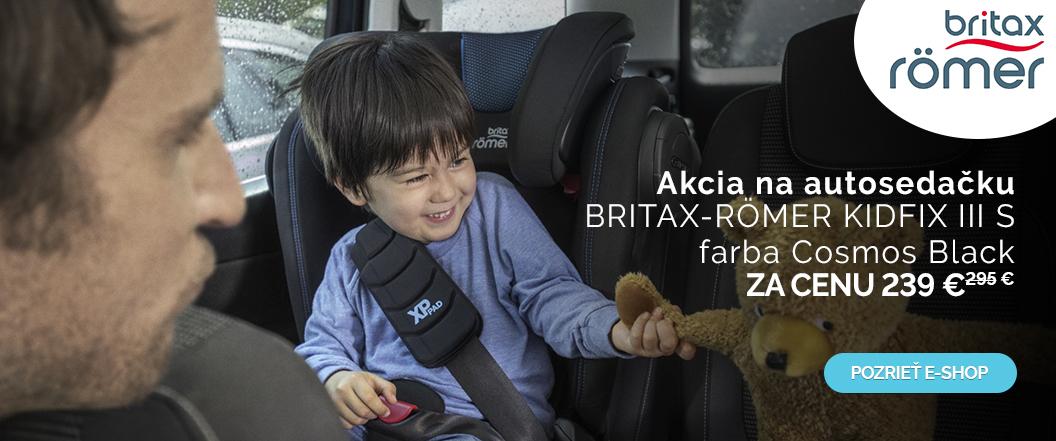 BRITAX-RÖMER AUTOSEDAČKA KIDFIX III S