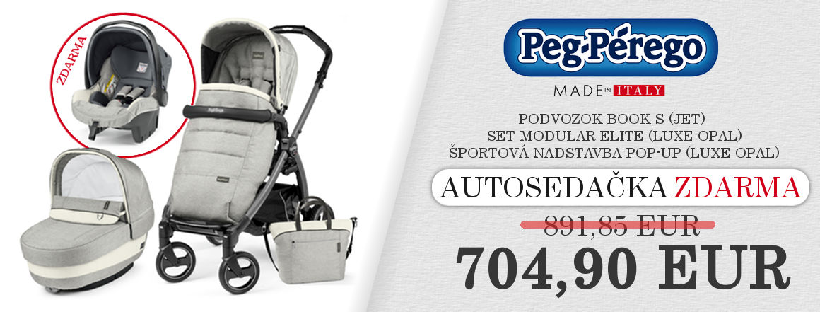 AKCIA ZOSTAVA Elite / Luxe Grey,Luxe Beige,Luxe Opal autosedačka v hodnote zdarma 186,95 EUR