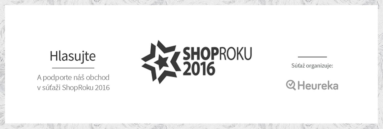 Hlasovanie SHOP roka 2016