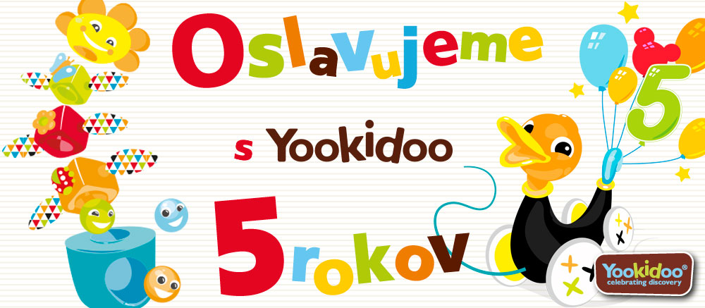 Yookidoo 5 rokov
