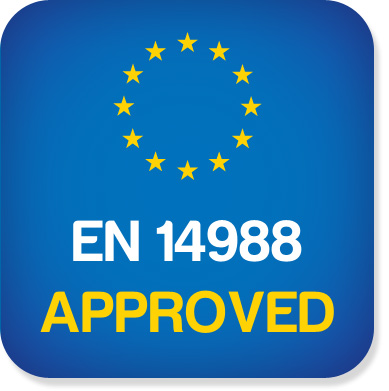 Spĺňa európsku normu pre detské vysoké stoličky.