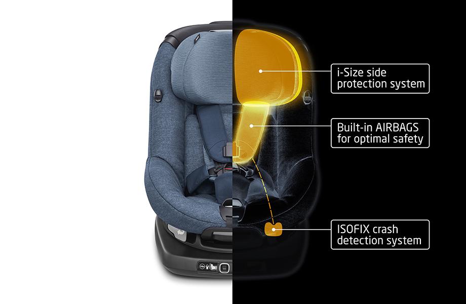 Bezpečnostný systém autosedačky Maxi-Cosi AxissFix Air