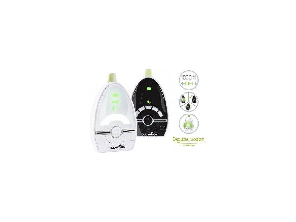 babymoov baby monitor expert care digital green. Black Bedroom Furniture Sets. Home Design Ideas