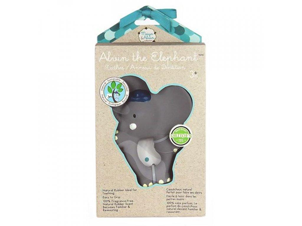 Meiya Alvin Hryzátko slon Alvin (100% prírodný kaučuk)  d413b07b058
