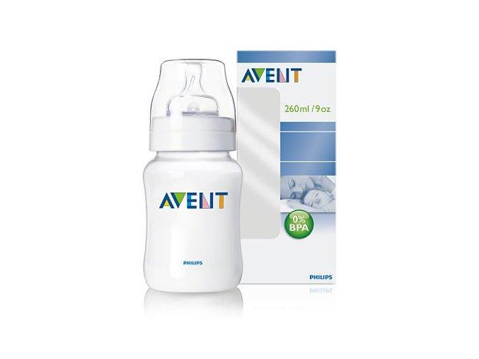 Avent fľaša PP 260ml 0%BPA