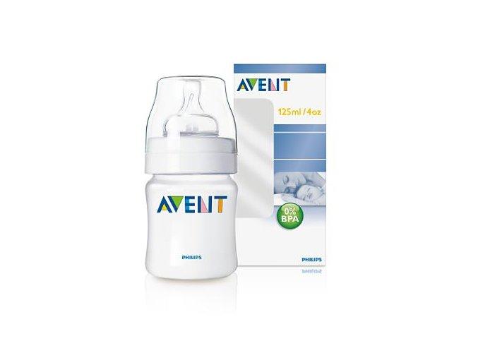 Avent fľaša PP 125ml 0%BPA
