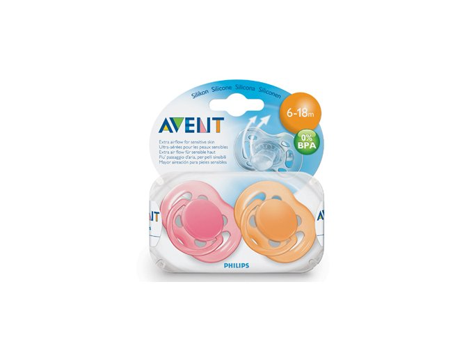 Avent Cumlík sensitive 6-18m 2ks