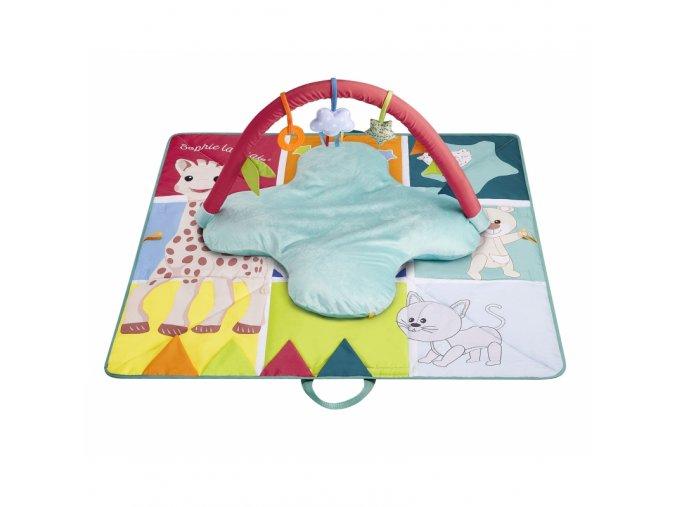 Vulli Multifunkčné hracia deka Sophie la girafe