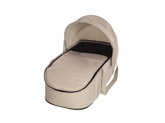 vyr 10411502332300 2018 maxicosi stroller carrycot laikasoftcarrycot laika beige nomadsand 3qrt
