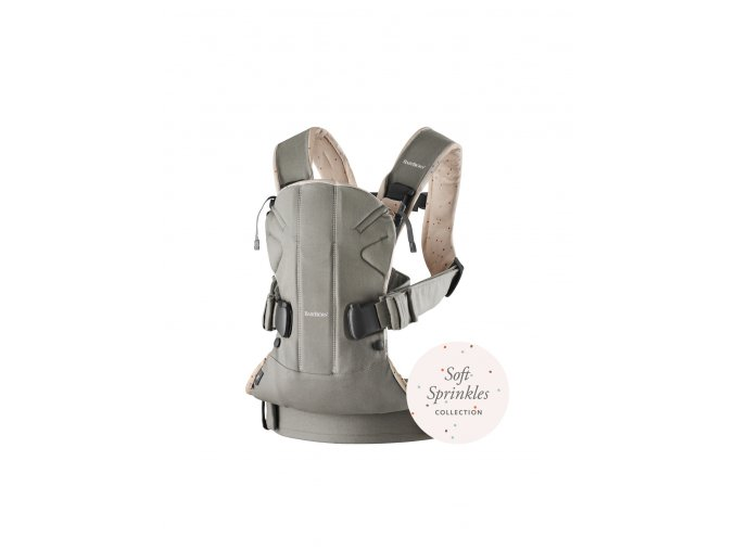 vyrp11 347Baby Carrier One 2018 Classic greyPink sprinkles Cotton1
