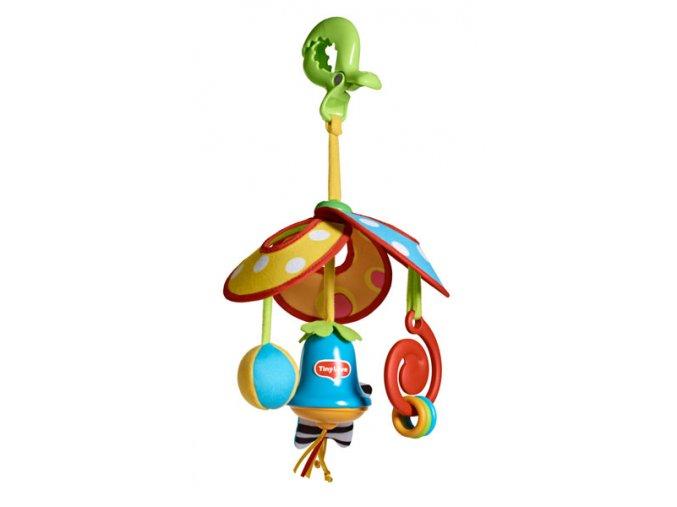 Prenosný kolotoč so zvončekom