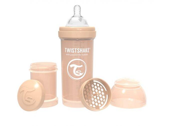 Screenshot 2019 09 23 Kojenecká láhev Anti Colic 260ml Pastelově béžová Twistshake CZ