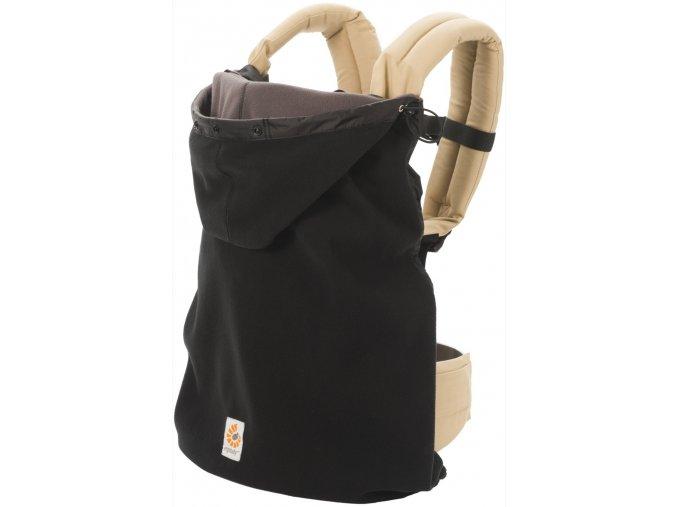 Ergobaby zimná ochrana 2v1 Black