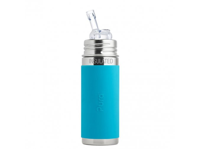 1 Pura termo flasa so slamkou 260ml Aqua preview