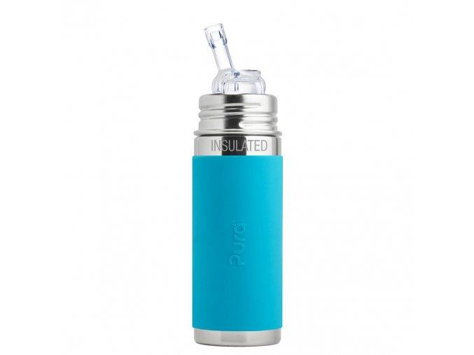 1 Pura termo flasa so slamkou 260ml Aqua preview