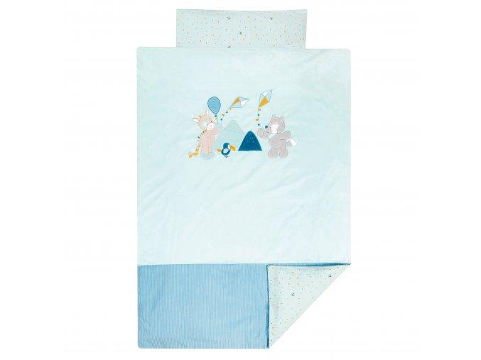 Nattou Obliečky na posteľ 100 x 140 cm a 40 x 60 cm TT