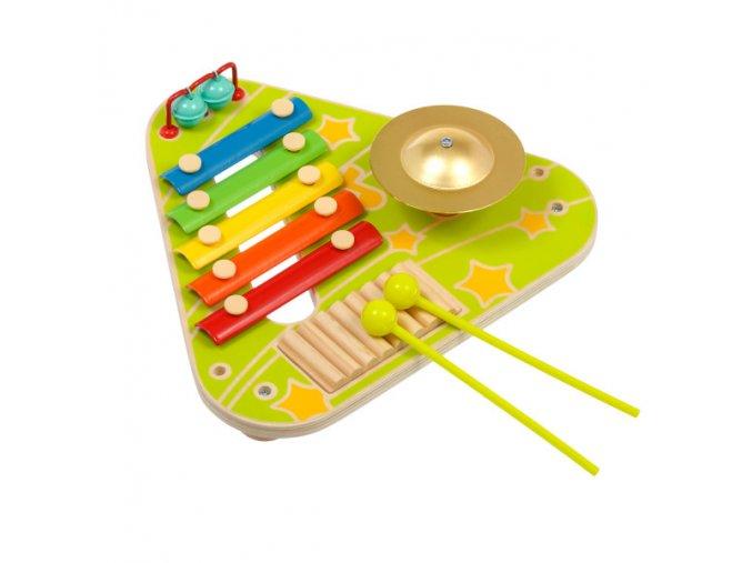 "Lucy&Leo Hudobná hračka Busyboard ""Musical"""
