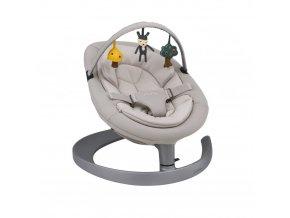 nuna leaf reversible toy bar cinder bisque p1591 21921 image