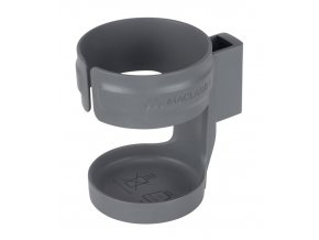 Maclaren Hard Cup Holder Plain Charcoal