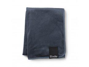 elodie details zamatova deka pearl velvet blanket Dots of Fauna