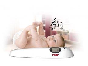 Reer Detská digitálna váha s melódiami