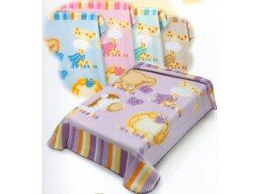 Belpla Španielska deka  Baby Perla Safari