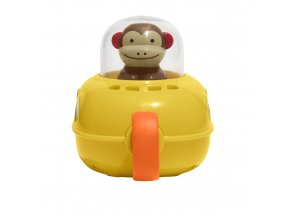 SKIP HOP Zoo hračka do vody Ponorka - Opička 12m+