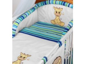 Luxusné obliečky Baby Driems Safari - Žirafa