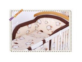 Bavlnené obliečky Baby Dreams - Spiace ovečky