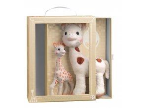 Vulli Set Žirafka Sophie & plyšová Žirafka Sophie Chérie