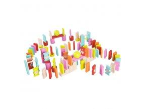 Medvedíkové plnofarebné domino