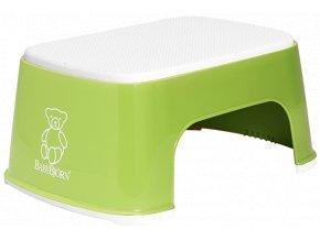 babybjorn step stool greenwhite 1