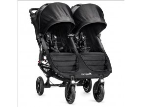 baby jogger kocik dvojickovy city mini gt double black black