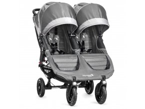 baby jogger kocik dvojickovy city mini gt double steel gray
