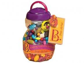 b toys navliekacie korale a tvary pop arty 500 ks