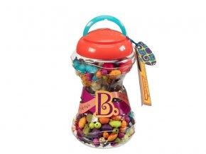 b toys spojovacie korale a tvary pop arty 300 ks