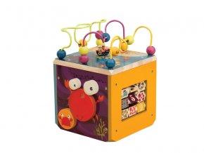 Interaktívna kocka pre deti B-Toys 4