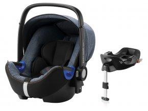 britax romer autosedacka baby safe i size bundle 2018 blue marble