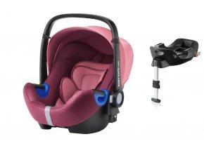 britax romer autosedacka baby safe i size bundle 2018 winw rose
