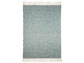 Done by Deer koberec 90 x 120 cm - modrý