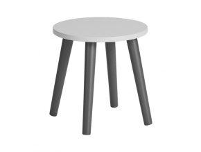 Detská stolička - šedá