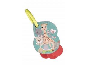 Vulli Kartičky s číslami na krúžku Sophie la girafe