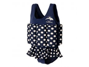 konfidence floatsuit polka dot lalashop