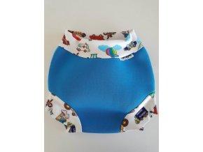 Neoprénové plavky pre deti a bábätká Swim Nappy auta