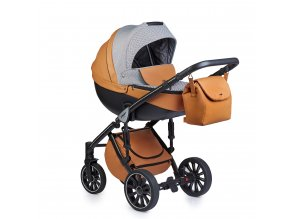 Anex Baby kombinovaný kočík Sport oranžový