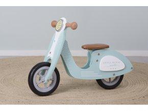 Odrážadlo pre deti Little Dutch Scooter modré