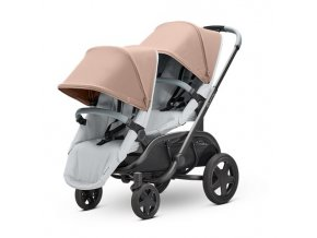 1396079000duo 2019 quinny stroller 1stagestroller hubb duo seat grey corkongrey 2 slot4 1 standard sf 3qrtleft