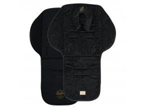 seat liner black velvet