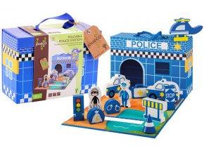 Jouéco policajná stanica v kufríku 13ks